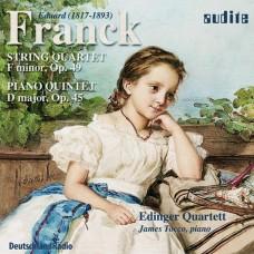 法朗克:弦樂四重奏、鋼琴五重奏 E. Franck:String Quartet and Piano Quintet