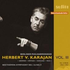 卡拉揚特輯第三集~貝多芬:第三、九號交響曲 Edition von Karajan (III) – L. v. Beethoven:Symphony No. 3 ('Eroica') & No. 9