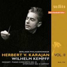 卡拉揚特輯第二集~莫札特:第20號鋼琴協奏曲、第41號交響曲 Edition von Karajan (II) – W. A. Mozart: Piano Concerto No. 20 & Symphony No. 41 'Jupiter Symphony'
