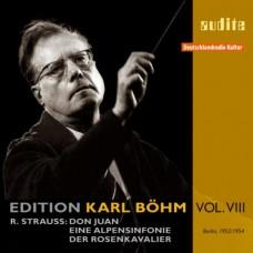 理查.史特勞斯:唐璜、阿爾卑斯交響曲、玫瑰騎士華爾茲組曲 R. Strauss:Don Juan, Eine Alpensinfonie & Walzerfolge from Der Rosenkavalier | Karl Böhm Edition Vol. 8