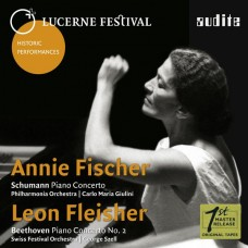 琉森音樂節歷史名演Vol.8~安妮.費雪、里昂.弗萊雪 Lucerne Festival Historic Performances Vol. VIII~Annie Fischer、Leon Fleisher