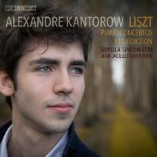 李斯特:鋼琴協奏曲 (亞歷山大.康特洛夫) Liszt:Piano Concertos (Alexandre Kantorow, piano / Jean-Jacques Kantorow / Tapiola Sinfonietta)
