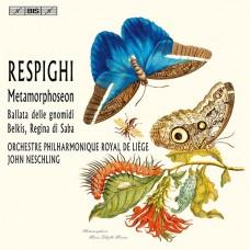 雷史畢基:變形曲、侏儒之歌&莎芭女王蓓兒吉絲組曲 Respighi:Metamorphoseon