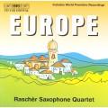 歐洲薩克斯風四重奏作品 (拉榭爾薩克斯風四重奏) Europe (Raschèr Saxophone Quartet)