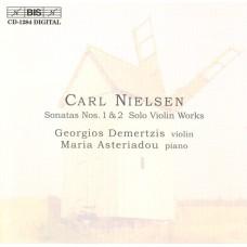 尼爾森:第1、2號小提琴奏鳴曲 Nielsen:Sonatas Nos.1 & 2