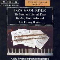 多普勒兄弟:長笛二重奏與獨奏名曲集 Franz & Karl Doppler:The music for flutes and piano (Robert Aitken, flute)
