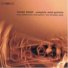 丹濟:木管五重奏全集&木管與鋼琴五重奏 (柏林愛樂木管五重奏 | 羅浮.德溫格 鋼琴) Danzi:Complete Wind Quintets
