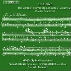 CPE巴哈:鍵盤協奏曲第20集 C.P.E. Bach:Keyboard Concertos Vol.20