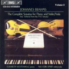 布拉姆斯:小提琴、中提琴、鋼琴奏鳴曲第2集 Brahms:The Viola Sonatas etc