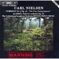 尼爾森:第二號交響曲、阿拉丁組曲 Nielsen:Symphony No.2 (鄭明勳)