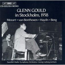 葛倫.顧爾德1958年斯德哥爾摩演奏會 Glenn Gould in Stockholm 1958