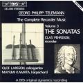 泰勒曼:直笛作品全集第三集 Telemann:Recorder Sonatas
