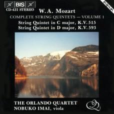 莫札特:弦樂五重奏全集第一集 Mozart:Complete String Quintets, Vol. 1