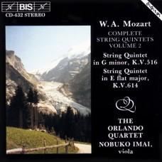 莫札特:弦樂五重奏全集第二集 Mozart:Complete String Quintets, Vol. 2