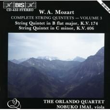 莫札特:弦樂五重奏全集第三集 Mozart:Complete String Quintets, Vol. 3