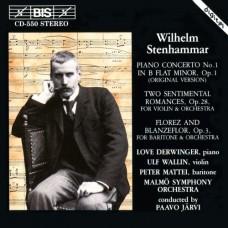 史坦哈瑪:第一號鋼琴協奏曲(原始版) Stenhammar:Piano Concerto No.1(Original Version) etc.