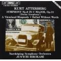 艾特柏格:C大調第六號交響曲、狂想曲、無言的敘事曲 Atterberg:Symphony No.6,etc. (Juni'chi Hirokami / Norrkoping Symphony Orchestra)