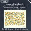 潘德雷茲基:豎笛與弦樂作品集 Penderecki:Music for clarinet & string