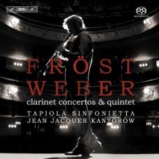韋伯:單簧管協奏曲集與五重奏 Fröst Plays Weber Clarinet Concertos