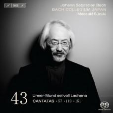 巴哈:清唱劇第43集 Bach:Cantatas Vol. 43