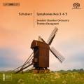 舒伯特:第三~五號交響曲 Schubert:Symphonies Nos 3, 4 & 5