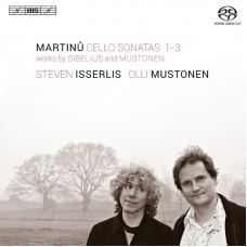 馬替努、西貝流士、穆斯托年:大提琴奏鳴曲 Steven Isserlis plays Martinu, Sibelius & Mustonen