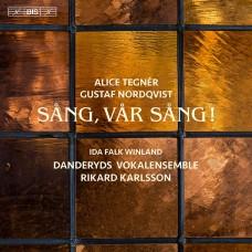 歌啊~屬於我們的歌!瑞典混聲合唱作品集 Tegnér & Nordqvist:Sång, vår sång! - Music for mixed choir