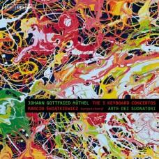 穆特爾:第一號~第五號鍵盤樂器協奏曲 Müthel:The Five Keyboard Concertos