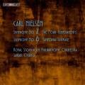 尼爾森:第二號交響曲「四種氣質」、第六號交響曲「簡潔」 Nielsen:Symphony No. 2 'The Four Temperaments' 、Symphony No. 6 'Sinfonia Semplice'