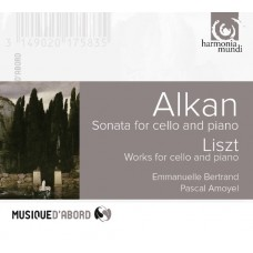 貝赫彤 / 阿爾肯:大提琴奏鳴曲  Emmanuelle Bertrand & Pascal Amoyel / Alkan: Sonata for cello and piano