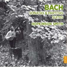 巴哈:無伴奏大提琴組曲改編魯特琴版 (霍普金森.史密斯) Bach:Sonatas & Partitas, Suites (Hopkinson Smith)