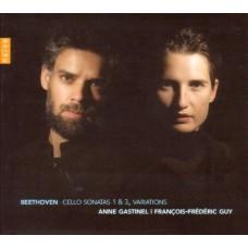 貝多芬:第1、3號大提琴奏鳴曲|三首變奏曲 Beethoven:Cello Sonatas & Variations