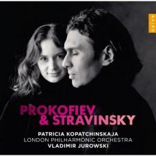 史特拉文斯基、普羅高菲夫:小提琴協奏曲 (派翠西雅.柯帕琴絲卡雅, 尤洛夫斯基, 倫敦愛樂管弦樂團) Stravinsky & Prokofiev:Violin Concertos (Kopatchinskaja, Jurowsky, London Philharmonic Orchestra)