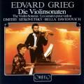 葛利格:小提琴奏鳴曲 (西特柯維茲基, 小提琴 / 達薇朵薇琪, 鋼琴) Grieg:Die Sonaten Für Violine Und Klavier (Dmitry Sitkovetsky, violin / Bella Davidovich, piano)