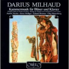 米堯:木管室內樂作品 Milhaud:Chamber Music for Winds & Piano