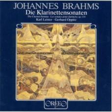 布拉姆斯:豎笛奏鳴曲全集 Brahms:Sonata for Clarinet and Piano op.120