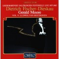 薩爾茲堡音樂節藝術歌曲之夜 1957-1965 Vol.5 - 貝多芬 (費雪迪斯考 / 摩爾) Liederabende Salzburg Festspiele 1957-1965, Vol. 5 - Beethoven (Dietrich Fischer-Dieskau / Gerald Moore)
