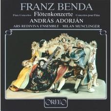 班達:三首長笛協奏曲 (阿朵楊, 長笛) Benda:Concertos for Flute and Orchestra (András Adorján, flute)