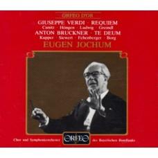 威爾第:安魂彌撒曲|布魯克納:C大調謝恩讚美歌 Verdi:Requiem、Bruckner:Te Deum (E. Jochum, Bavarian Radio Symphony Orchestra & Choir)