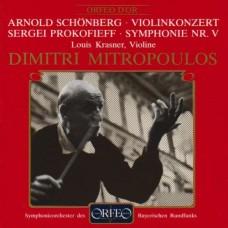 荀白克:小提琴協奏曲 | 普羅高菲夫:第5號交響曲 Schonberg:Violin Concerto | Prokofiev:Symphony No. 5