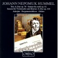 胡麥爾:三重奏、鋼琴奏鳴曲、大提琴奏鳴曲 Hummel:Trio A-Dur op. 78; Sonata fis-moll op. 81; Sonate für Violoncello und Klavier A-Dur op104