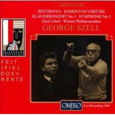 貝多芬:艾格蒙序曲、第三號鋼琴協奏曲、第五號交響曲 Beethoven:Egmont Overture、Piano Concerto No.3、Symphony No.5