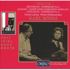 貝多芬:第四號交響曲、馬勒:流浪青年之歌:舒曼:第四號交響曲 Beethoven、Mahler、Schumann
