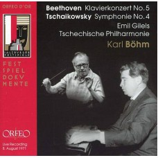 貝多芬:《第5號鋼琴協奏曲》/柴可夫斯基:《第4號交響曲》Beethoven.Tschaikowsky/Gilels.Bohm