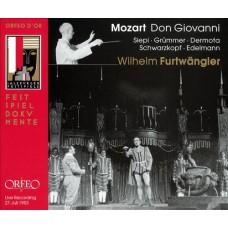 莫札特:歌劇《唐喬凡尼》(福特萬格勒 / 維也納愛樂) Mozart:Don Giovanni K 527 (Furtwängler / Vienna Philharmonic / Vienna State Opera Chorus)