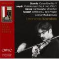 史塔密茲:第9號序曲、海頓:第1號小提琴協奏曲、亨策:弦樂團幻想曲、莫札特:布拉格交響曲 Mozart | Haydn | Henze | Stamitz (Kavakos)