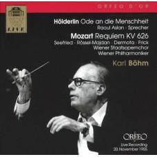 莫札特:安魂曲,KV626、霍德林:人性頌歌(詩篇朗讀) Mozart:Requiem KV 626、Hölderlin:Ode an die Menschheit