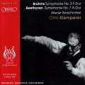 貝多芬:第七號交響曲、布拉姆斯:第三號交響曲 Beethoven:Symphony No. 7 Brahms:Symphony No. 3 (O. Klemperer)