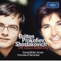 布列頓、普羅高菲夫、蕭士塔高維契:大提琴奏鳴曲 (丹尼爾.穆勒-修特 / 弗朗西斯柯.皮耶蒙特吉) Britten, Prokofiev, Shostakovich:The Cello Sonatas (Daniel Müller-Schott / Francesco Piemontesi)