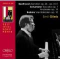 吉利爾斯薩爾茲堡音樂節現場~貝多芬、舒曼、布拉姆斯 Beethoven, Schumann, Brahms: Emil Gilels